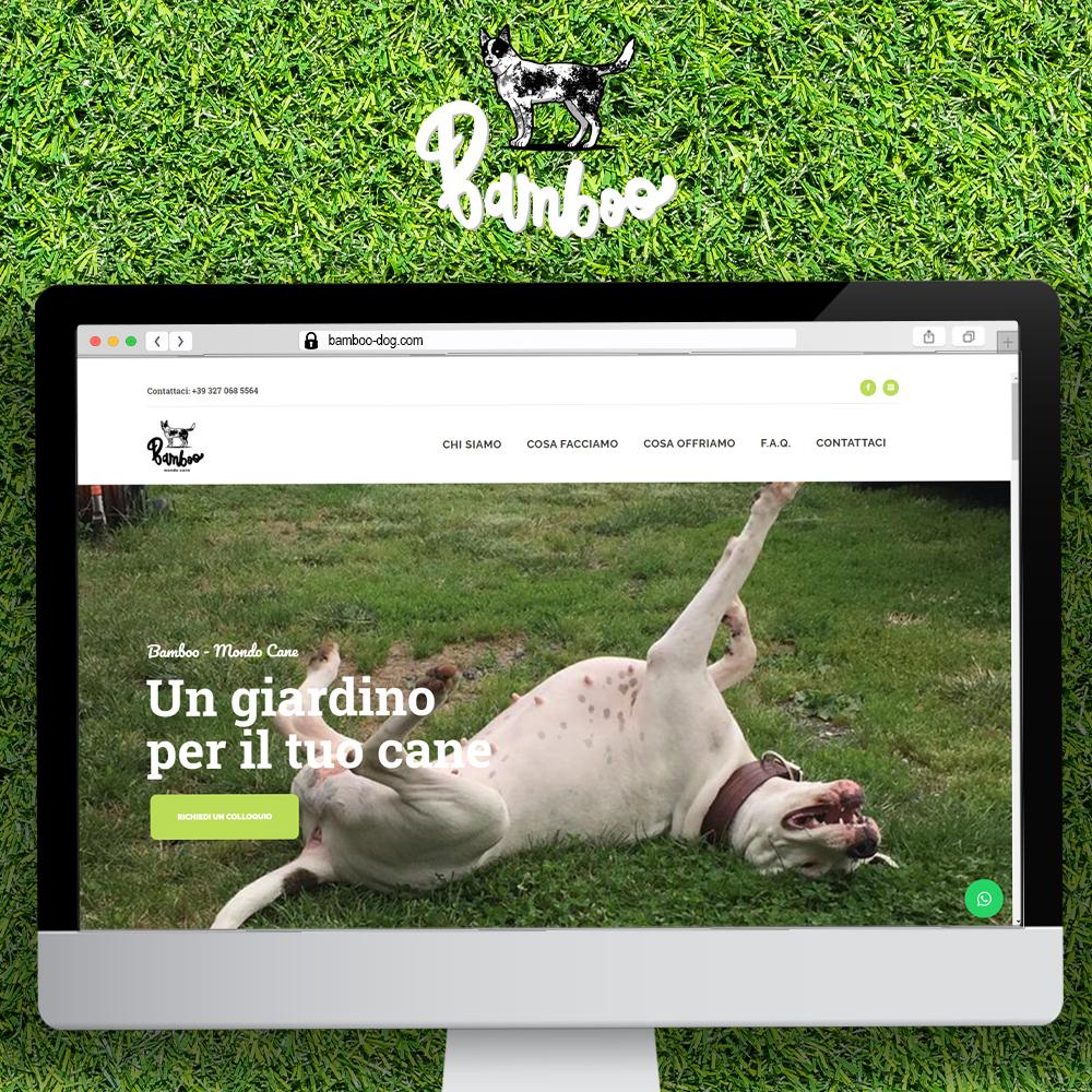 nauta studio mockup sito web responsive bamboo dog